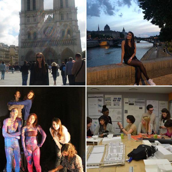 C'est à Paris que Sarah s'est établie pour faire ses études puis travailler