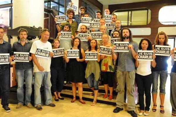 Charlie hebdo : Nouméa manifeste pour la liberté