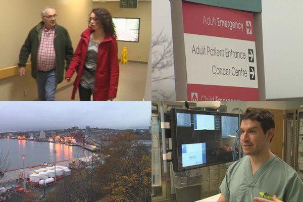 L'hôpital de Saint-Jean de Terre-Neuve accueille régulièrement des patients de Saint-Pierre et Miquelon