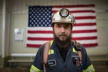 Travailleur de l'industrie minière aux Etats-Unis