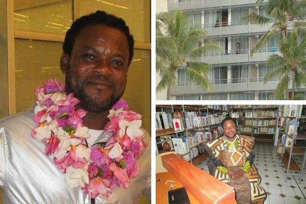 Artiste congolais bloqué Eddy Mboyo Bofenda