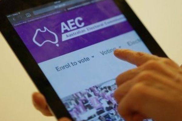 Australie vote électronique