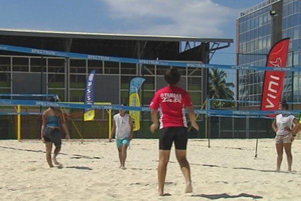 Beach volley : les scolaires visent les championnats du monde