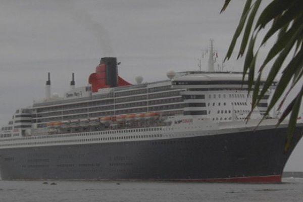 Queen Mary 2 arrivée