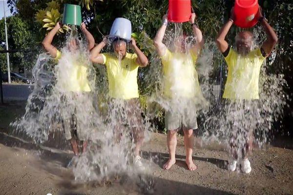 Ice Bucket Challenge de Mayotte 1ère