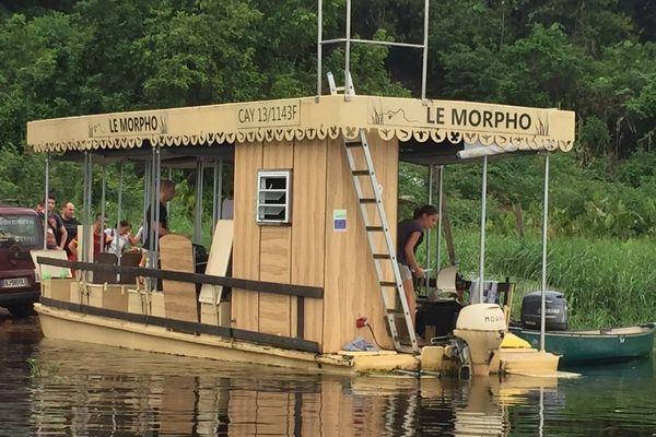 """Embarcation """"Le Morpho"""""""