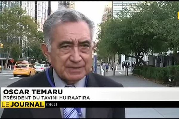 Oscar Temaru de retour à l'ONU