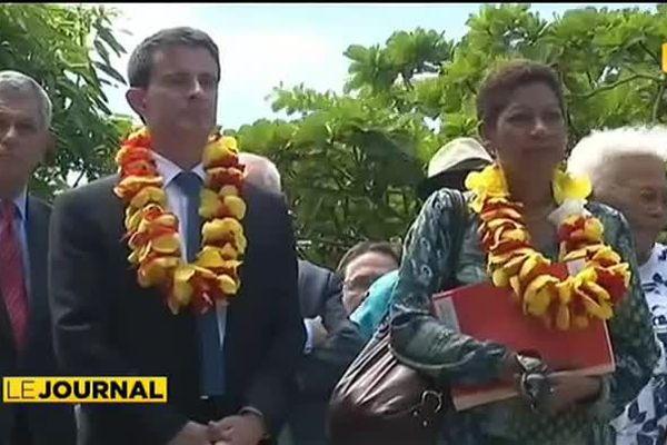 Visite du premier ministre en Nouvelle Calédonie