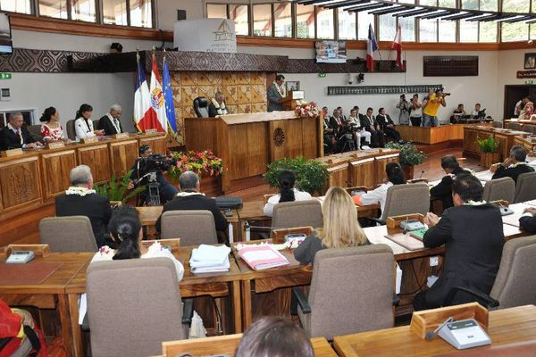 Intervention de Victorin Lurel à l'Assemblée de Polynésie française