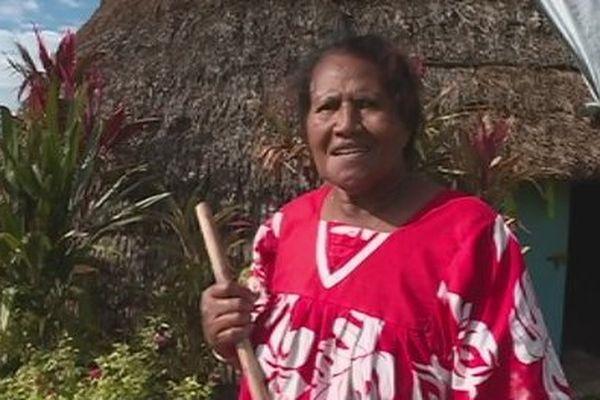 Capture veuve maman Lifou après cyclone Donna solidariaté (mai 2017)