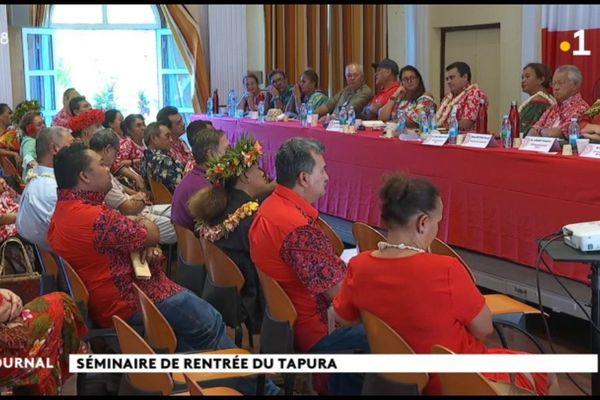 Sénatoriales : un ticket Lana Tetuanui- Teva Rohfritsch pour le Tapura Huiraatira
