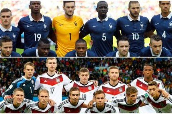 France Allemagne coupe du monde