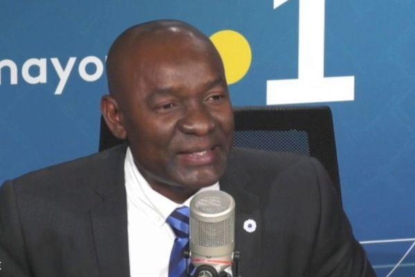Issa Issa Abdou, vice-président du conseil départemental et président du conseil d'administration du CHM
