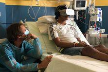 La réalité virtuelle pour soulager la douleur des enfants hospitalisés