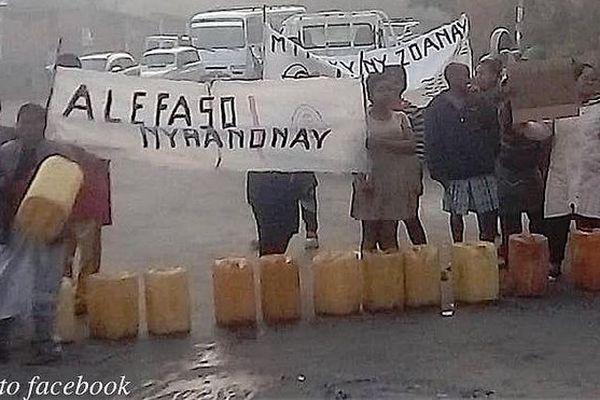 Pénurie d'eau à Antananarivo suite
