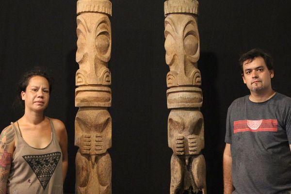 Un tiki du TAHITI NUI I part pour le Chili