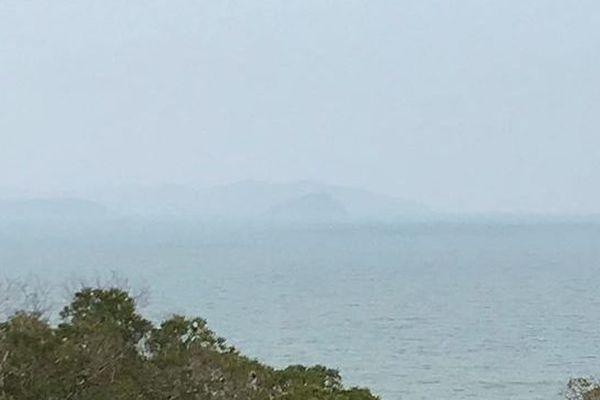 Fumées australiennes, 11 novembre, Païta.