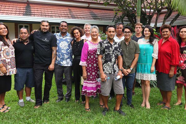 La délégation polynésienne invitée d'honneur du 3e salon de la gastronomie