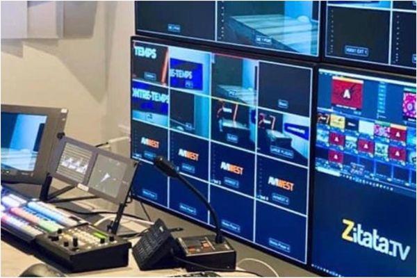 Régie de Zitatatv / télévision