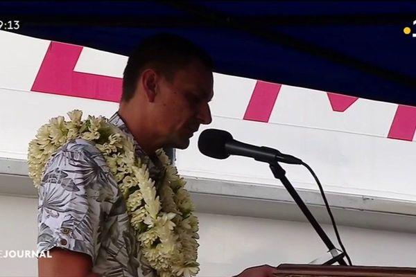 Bataille navale dans le chenal entre Tahiti et Moorea