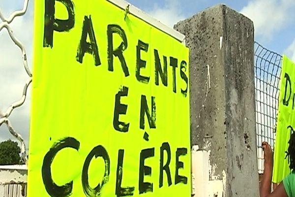 Parents en colère