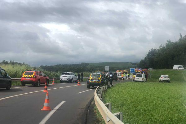 Accident mortel à Sainte-Suzanne