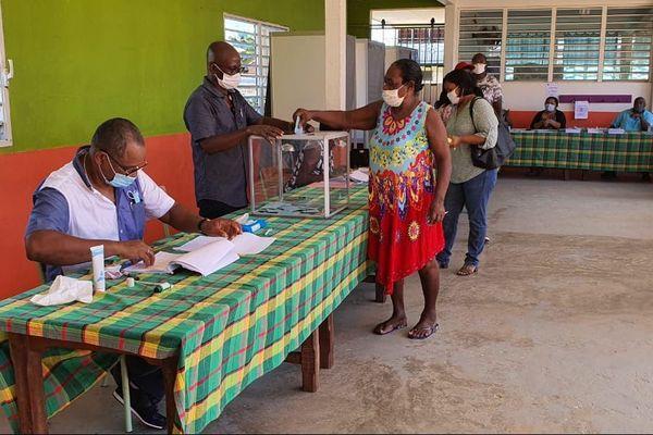 Vote à Iracoubo