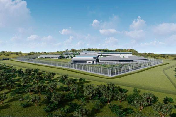 La future prison de Koné