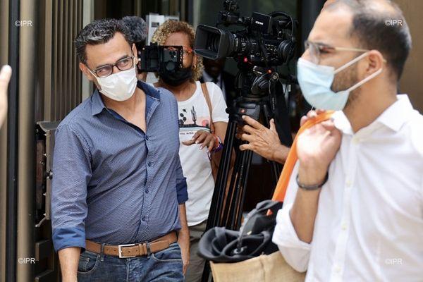 Soupçons de corruption Olivier Hoarau sort du tribunal 040221