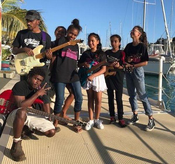 Trophée Jeunes artistes 2019, l'un des participants
