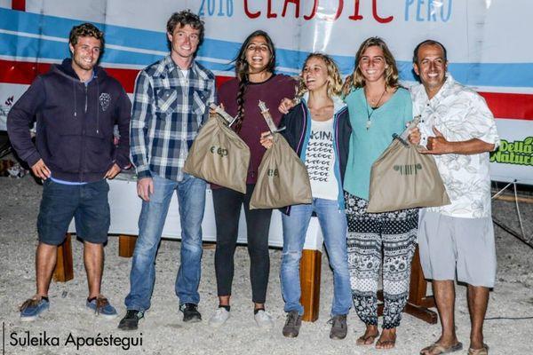 Sarah Hauser victorieuse à Pacasmayo (Pérou) lors de la 4e étape de l'American Windsurfing Tour