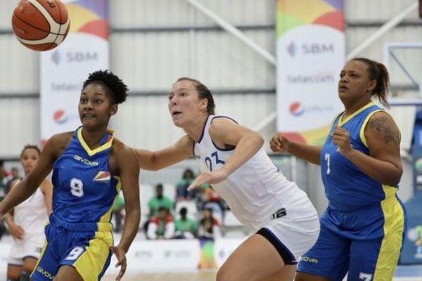 JIOI 2019  basket féminin réunion seychelles 210719