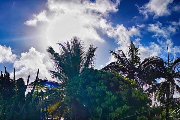 Soleil et nuages sur Saint-Andé