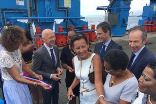 Inauguration du nouveau Portique du Grand Port Martime