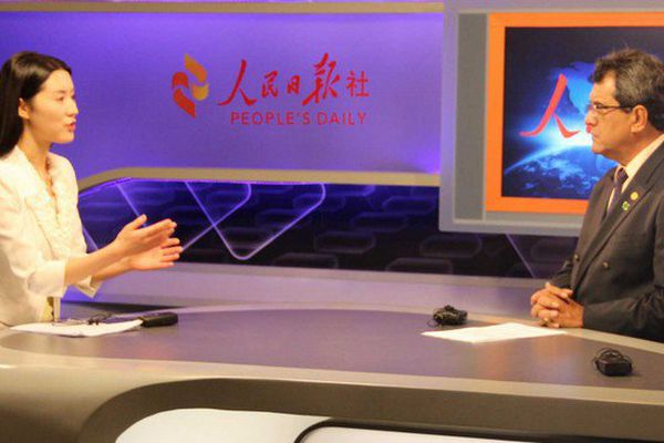 Edouard Fritch assure la promotion de Tahiti en Chine