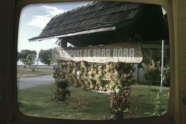 aéroport de bora bora en 1993
