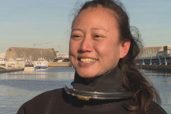 Sylvie Chung, une scaphandrière à la conquête des eaux