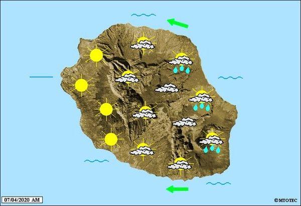 Carte météo 7 avril 2020