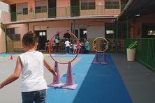Séance de jeux avec des enfants (image d'illustration).