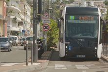 BHNS (Bus à Haut Niveau de Service) à Fort-de-France.