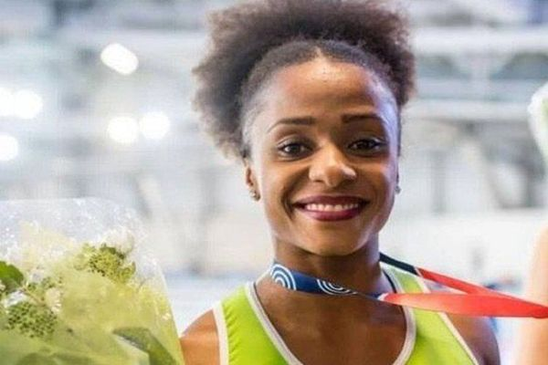 Nasrane Bacar, championne de France en salle sur 60 mètres 2019