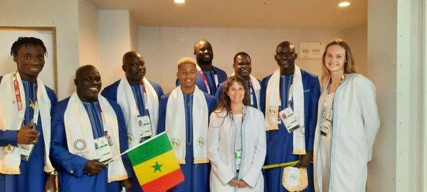La délégation sénégalaise aux JO de Tokyo