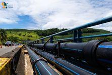Le réseau d'eau potable sur la route nationale au Lorrain (image d'illustration).