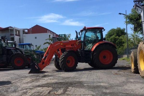 20170504 - Manifestation jeunes agriculteurs (parking Téréos) Tracteurs