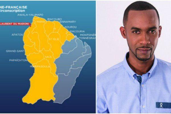 Davy Rimane, candidat sans étiquette dans la 2e circonscription