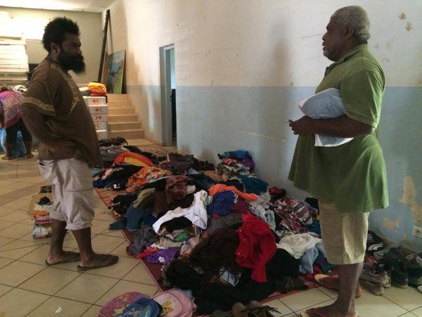 Houailou : collecte spontanée