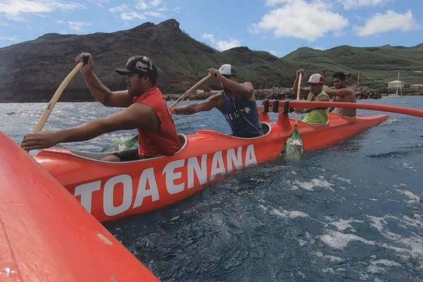 Toa Enana, équipe Marquises Hawaiki Nui Va'a