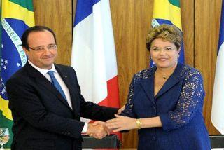 François Hollande et Dilma Rousseff