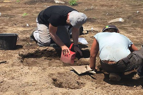 Fouilles archéologiques au Lorrain