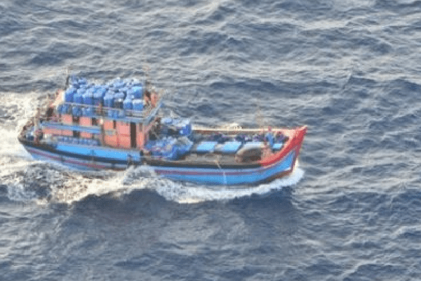 Blue boats pêche illégale